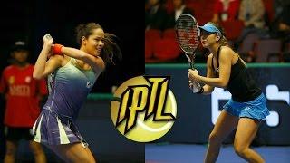 [HD] IPTL 2015 - Ana Ivanovic vs Belinda Bencic (Full match)
