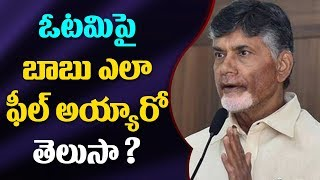 TDP Leaders Meet Chandrababu After Defeat..
