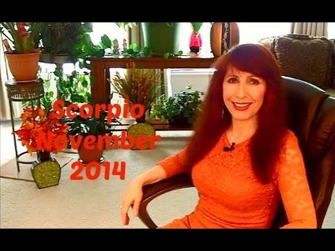Scorpio  November 2014 Astrology