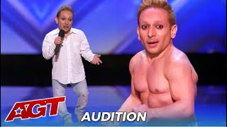 Alan Silva: Emotional Acrobat Is Out To Prove To His BULLIES That Size Does NOT Matter!