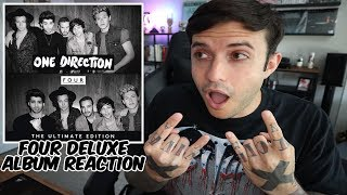 One Direction - FOUR DELUXE ALBUM REACTION