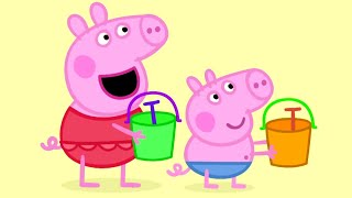 Peppa Pig English Episodes | Peppa Pig and her friends go for a picnic | Peppa Pig Official
