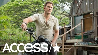 8 Times Chris Pratt Was A Total 'Jurassic World' Hunk   Access