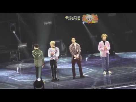 180227 SHINee TokyoDome ~FROM NOW ON~ MC MENT FULL Forever 5HINee Ending