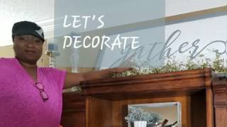 Decorate With Me/ Farmhouse Home Office Refresh 2019/ Part 1 Bookcase  Styling