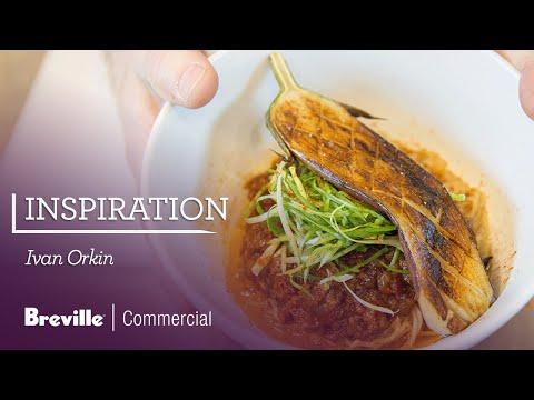 Ivan Orkin Makes Chile Eggplant Mazemen