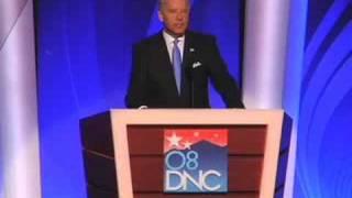 Joe Biden accepts the Democratic Party's nomination for VP