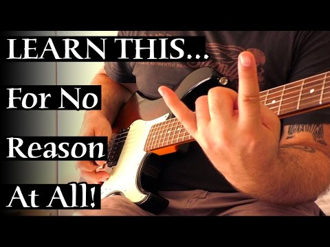 Learn This Fun But Stupid Picking Exercise For No Reason At All