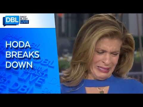 "Hoda Kotb Cries On ""TODAY"" After Interviewing New Orleans Saints' Drew Brees"