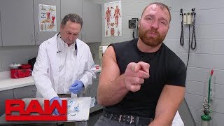 Dean Ambrose gets a series of inoculations: Raw, Nov. 26, 2018