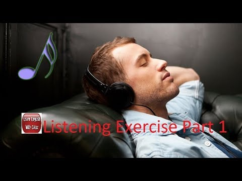 Listening to And Improve English While Sleeping - Listening Exercise Part 1