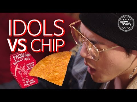KPOP Idols & Famous Youtubers DESTROYED by INSANE Spicy #OneChipChallenge BM KARD CASPER