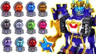 Power Rangers Uchuu Sentai Kyuranger Kyutama Gattai 13 DX Orion Battler appeared! - DuDuPopTOY