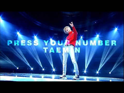 [무대교차편집] Press Your Number (Stage Mix) - 태민