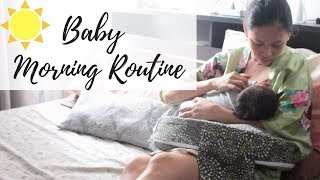 Baby Morning Routine | Taglish | Newborn