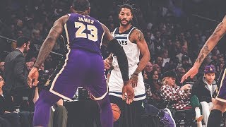 Derrick Rose Highlights: 31 Points, Career-High Seven Three-Pointers At Lakers