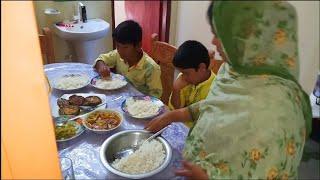 আমার শুক্র বারের ভ্লগ /Our Friday lunch routine vlog / Bangladeshi vlogger Toma