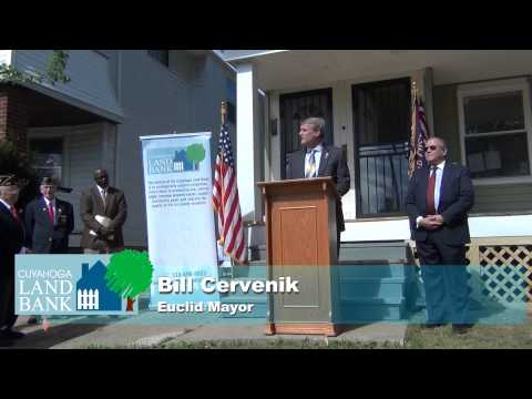 Home Front Cuyahoga County Veteran's Home Ownership Program Memorial Day celebration