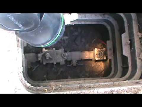 Helpful Lawn Sprinkler Leaking Main Shutoff Valve Idea