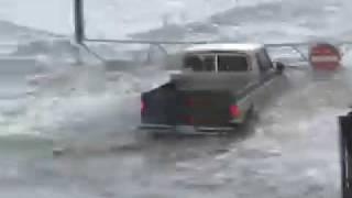 Hurricane Footage - Extreme Katrina Storm Surge by Warren Faidley