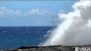 Littoral Explosions at Puhi-o-Kalaikini Ocean Entry