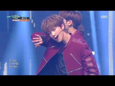 뮤직뱅크 Music Bank - 숨이 차(Getting Closer) - 세븐틴(SEVENTEEN) .20190201