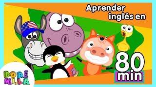 Aprende inglés cantando en 80 minutos con canciones infantiles