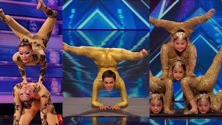 America's Got Talent S09E05 Contortionist Compilation