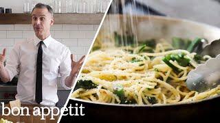 Adam Makes Cacio e Pepe, the New Way | Bon Appétit