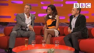 Daniel Craig and Christoph Waltz discuss filming injuries - The Graham Norton Show: Episode 5 - BBC
