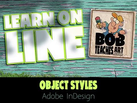 Using Object Styles in InDesign
