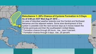 August 21, 2019 Weather Xtreme Video - Afternoon Edition