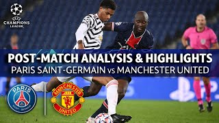 PSG vs Manchester United: Post Math Analysis & Highlights | UCL on CBS Sports