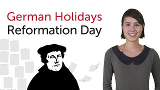 German Holidays - Reformation Day