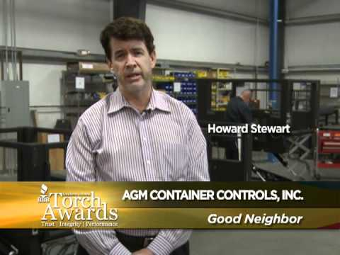 AGM Container Controls finalist at 2012 BBB Torch Awards