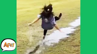 Slip, Slide and FAIL! 😂  | Funniest Fails | AFV 2020