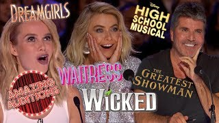 BEST Covers From MUSICALS On Got Talent, Idols And X Factor | Amazing Auditions