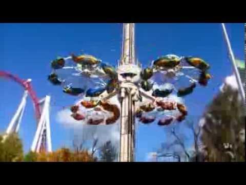 Hershey Park: Flying Falcon Off Ride POV 1080p - YouTube