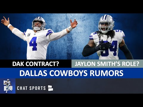 Dallas Cowboys Rumors: Dak Prescott Contract? Jaylon Smith's Role? Trevon Diggs Starting At CB?