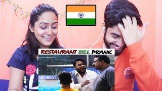 Indians react to Restaurant Bill Prank | P4 Pakao