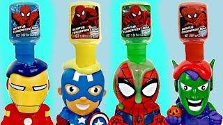SUPERHERO Bath Paint Toy Squirters & Bubbles | Toys Unlimited