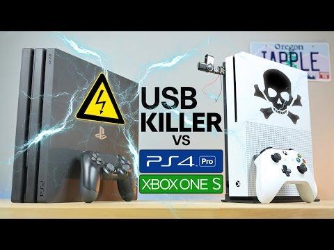 USB Killer Vs PS4 Pro & Xbox One S - Instant Death? - Phim SEX HAY, Em Gái Múp Vãi