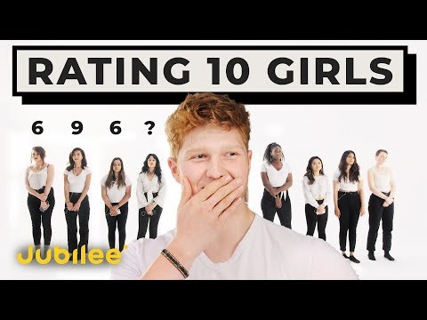 10 vs 1: Rating Girls By Looks & Personality