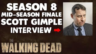 TWD S8 Mid-Season Finale Death Scott Gimple Interview w/ EW
