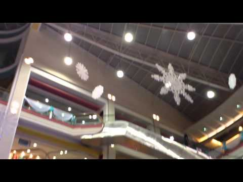 Christmas decoration @ Center One