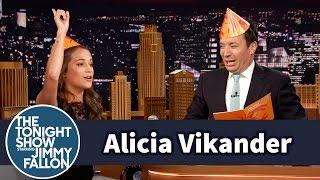Alicia Vikander Celebrates Sweden's Midsummer Holiday with Jimmy