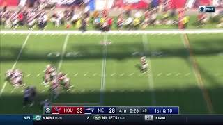 Brandin Cooks Game-Winning Touchdown Catch vs. Texans   Patriots vs. Texans Week 3