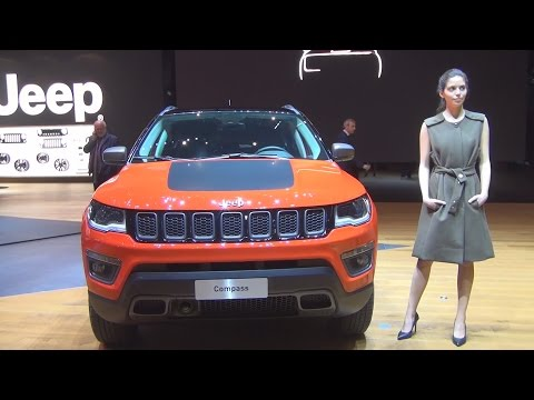 @Jeep #Compass (2017) Exterior and Interior in 3D