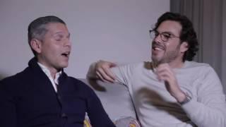 La historia de cómo nos conocimos Ernesto y Rodner Figueroa.