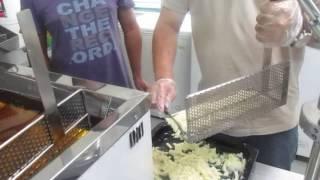 Long Potato Fries Chips
